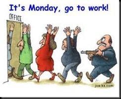 Segunda feira Trabalho
