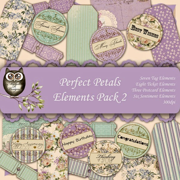 Perfect Petals Elements Front Sheet Pack 2