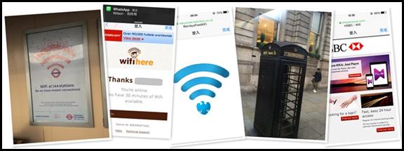 倫敦免費WiFi