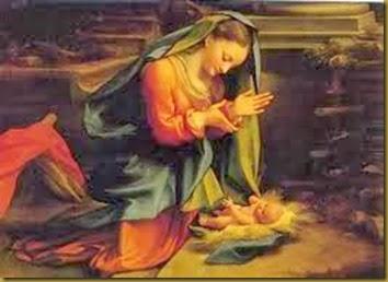 MARIA Y EL NIÑITO DIOS2
