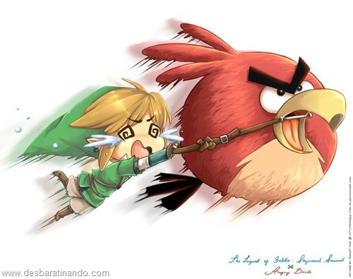 angry birds fan art desbaratinando  (3)