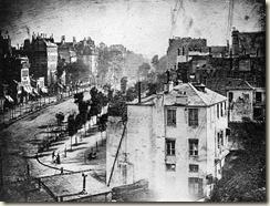 Le boulevard du Temple par Daguerre