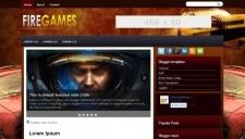 Firegames blogger template 225x128