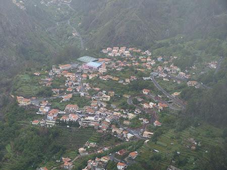 Sat de munte in Madeira
