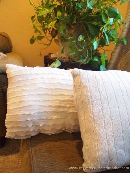 Beige Pillows