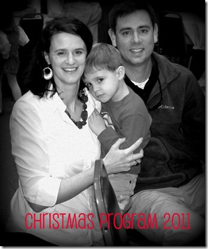 Mommy Daddy and Wesley 2011