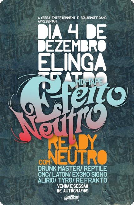 Ready Neutro - Mixtape 'Efeito Neutro' [Dia 4 de Dezembro]