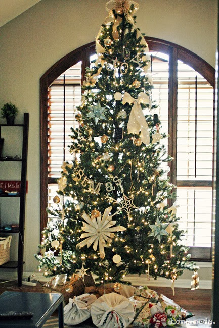 Homemade christmas decor is yours all put away for Office christmas trees