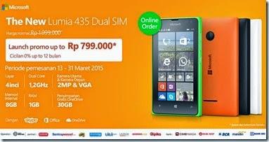 Pre-order Microsoft Lumia 435