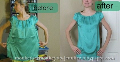 tunic before and after