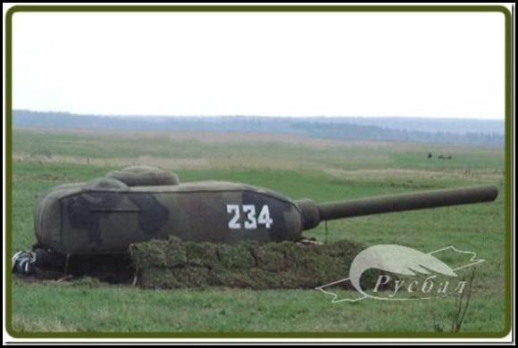 Russie une armée gonflable-4