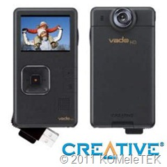CREATIVE Vado HD Black