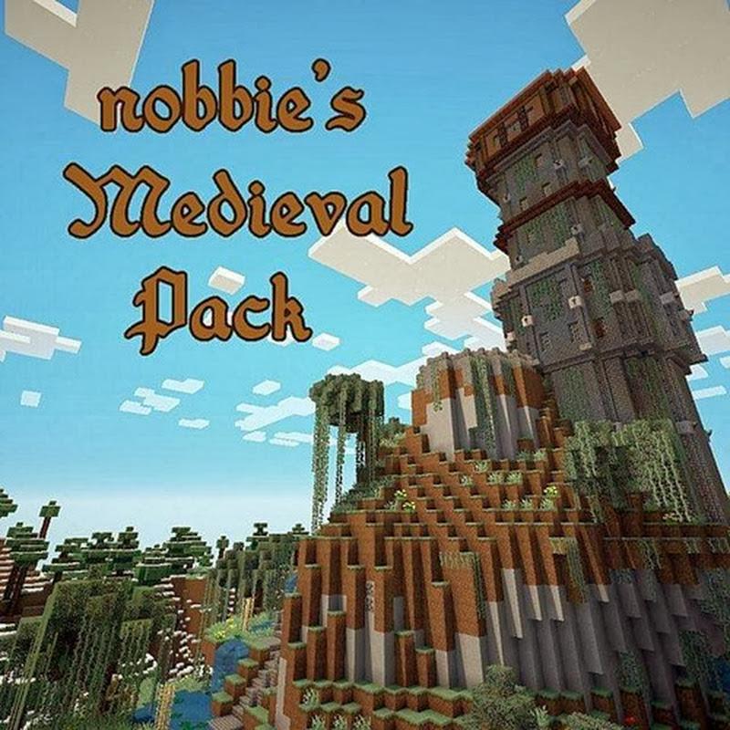 Minecraft 1.7.2 - nobbie's Medieval Pack 16x
