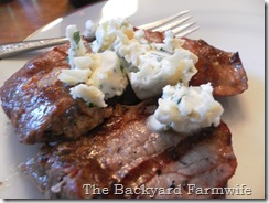 garlic parmesan butter - The Backyard Farmwife