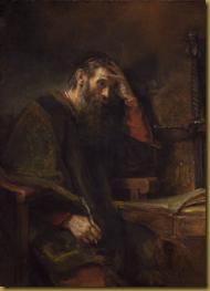 """Rembrandt's """"Apostle Paul"""""""