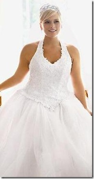moda para novias gorditas jovenes