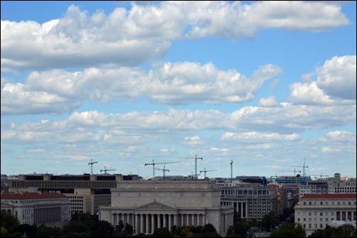cranes over DC
