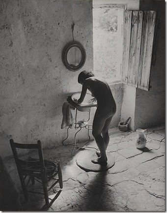 Nu provencal - Willy Ronis 1949