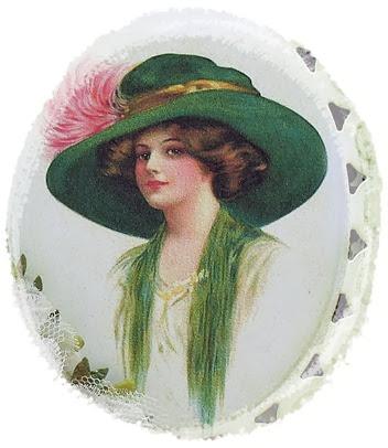 Pretty in the Green Hat 2014  c