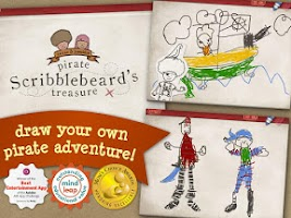 Screenshot of Pirate Scribblebeard - Draw