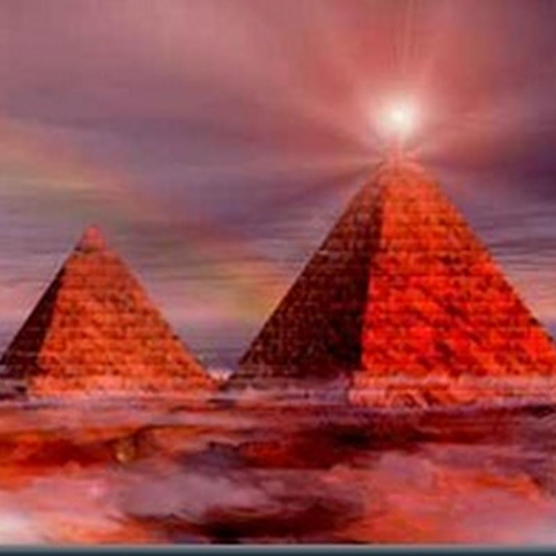 Pirâmides do Mundo emitem Energia para o Espaço