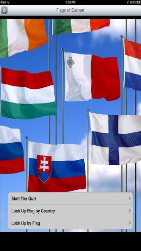European Flag Quiz