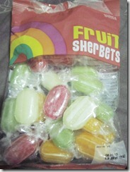 marks and spencer's fruit sherbets, 240baon