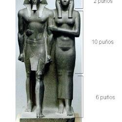 39 - Canon de los 18 puños en Mikerinos y su esposa.JPG
