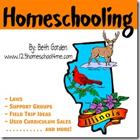 Homeschooling in Illinois Button