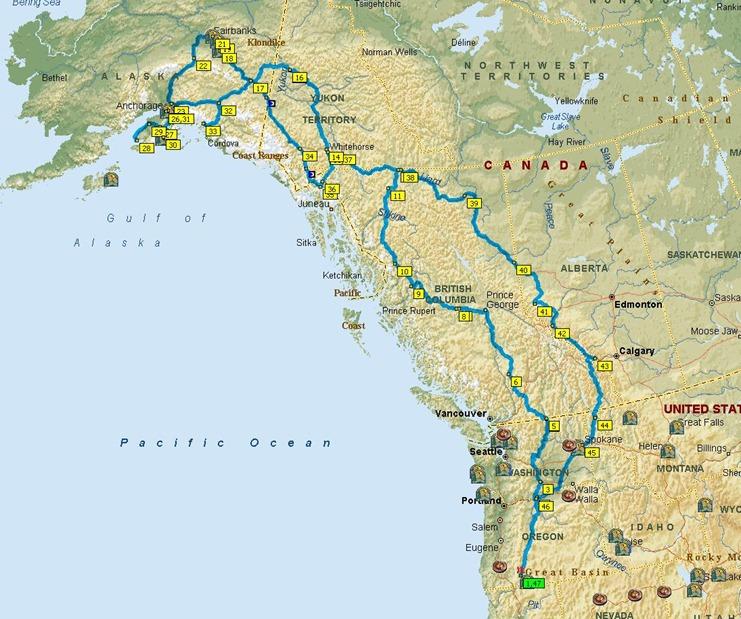 alaska route