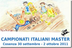 logo campionati master 2011