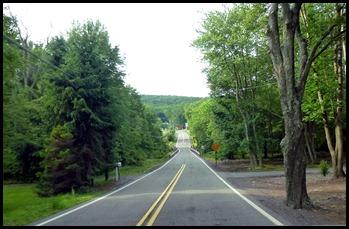 2 - Back across one lane bridge