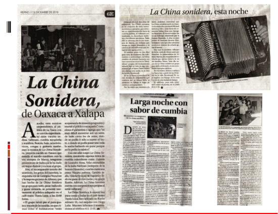 CHINA SONIDERA PRENSA