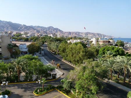 Aqaba vazuta din hotel