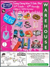 My Dear Year End Warehouse Sale 2013 Malaysia Deals Offer Shopping EverydayOnSales