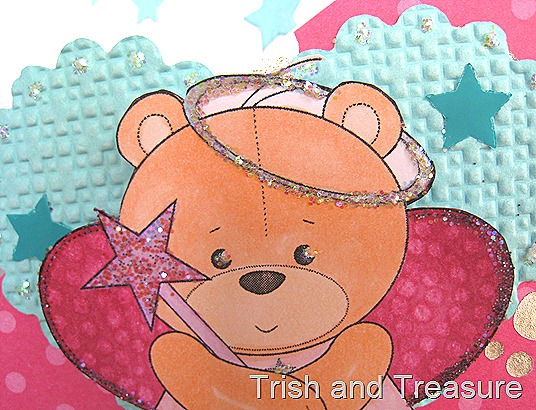 Fairy Teddy Card 008