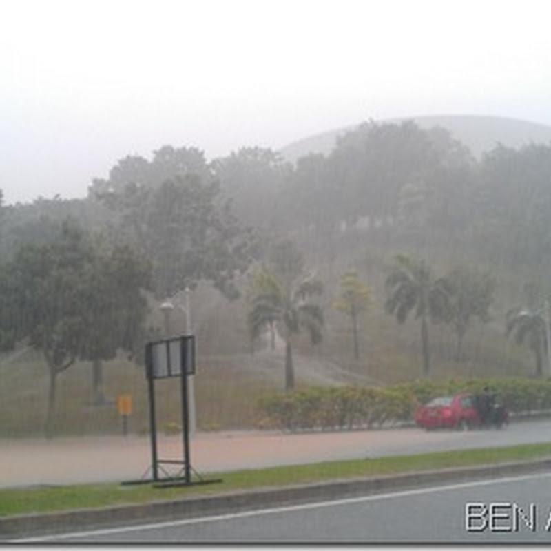 Kelantan banjir ? Camana nak balik raya ??