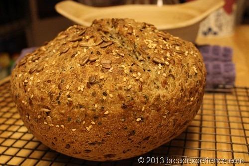 Multi Grain Boule with Spelt