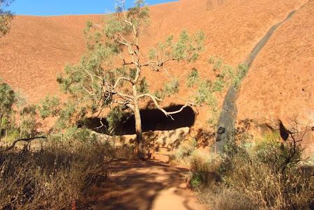 Imagini Uluru: Mala walk pesteri si formatiuni de stanci