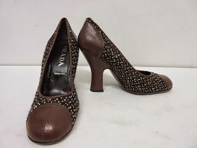 Prada Woven Heels