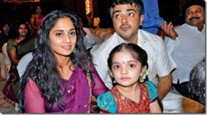 Ajith,Shalini,aAnoushka @ Srikanth's son wedding