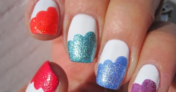 Easy Nail Polish Designs At Home Nail Designs Hair Styles Tattoos And Fashion Heartbeats
