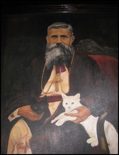 Mar Abimalek Timotheus with His Cats