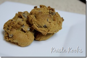 Krista Kooks Gluten Free Alton Brown Chocolate Chip Cookies 2