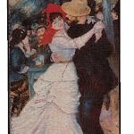 Gobelin przedstawiający obrazek Paryża