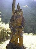 Impressive sculpture above the hot sulphur springs below Ungaran (Daniel Quinn, March 2010)