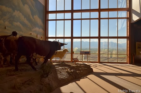 the Oregon Trail Interpretive Center