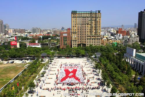 【2012年台中雙十國慶】舉手愛台灣-共創金氏世界紀錄