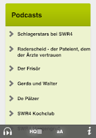 Screenshot of SWR4 Rheinland-Pfalz Radio