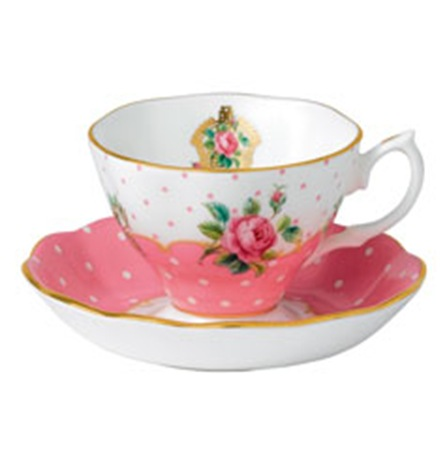 Cheeky Pink Teacup